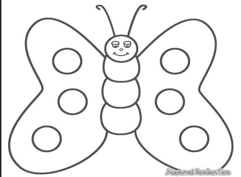 34 Gambar Kartun Kupu Kupu Hitam Putih Contoh Gambar Gambar Kupu Kupu Hitam Putih Untuk Mewarnai Download Jual 12 Pcs Kart Di 2020 Kartun Kupu Kupu Gambar Kelinci