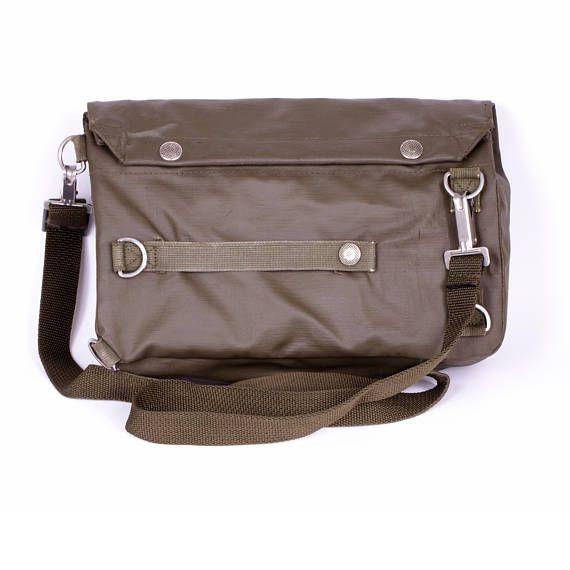 35eb77adb1 VINTAGE MESSENGER BAG Waterproof Shoulder Bag Military