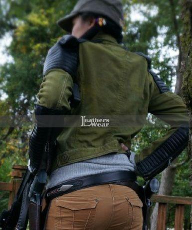 Walking S5 Christian Serratos Jacket