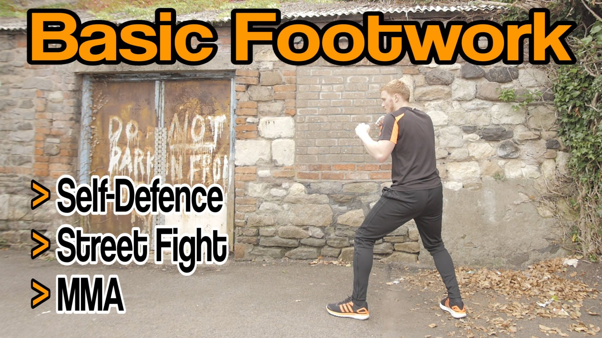 Basic Footwork For Self Defence Street Fight Mma Etc Gnt