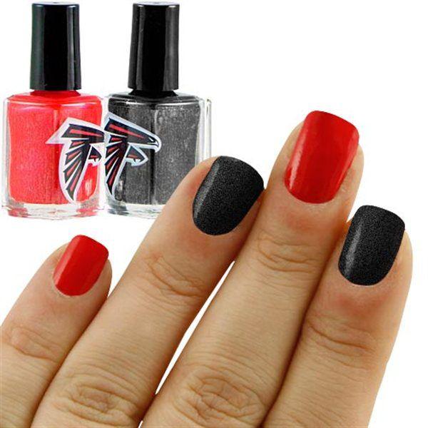 Atlanta Falcons Nail Polish Colors