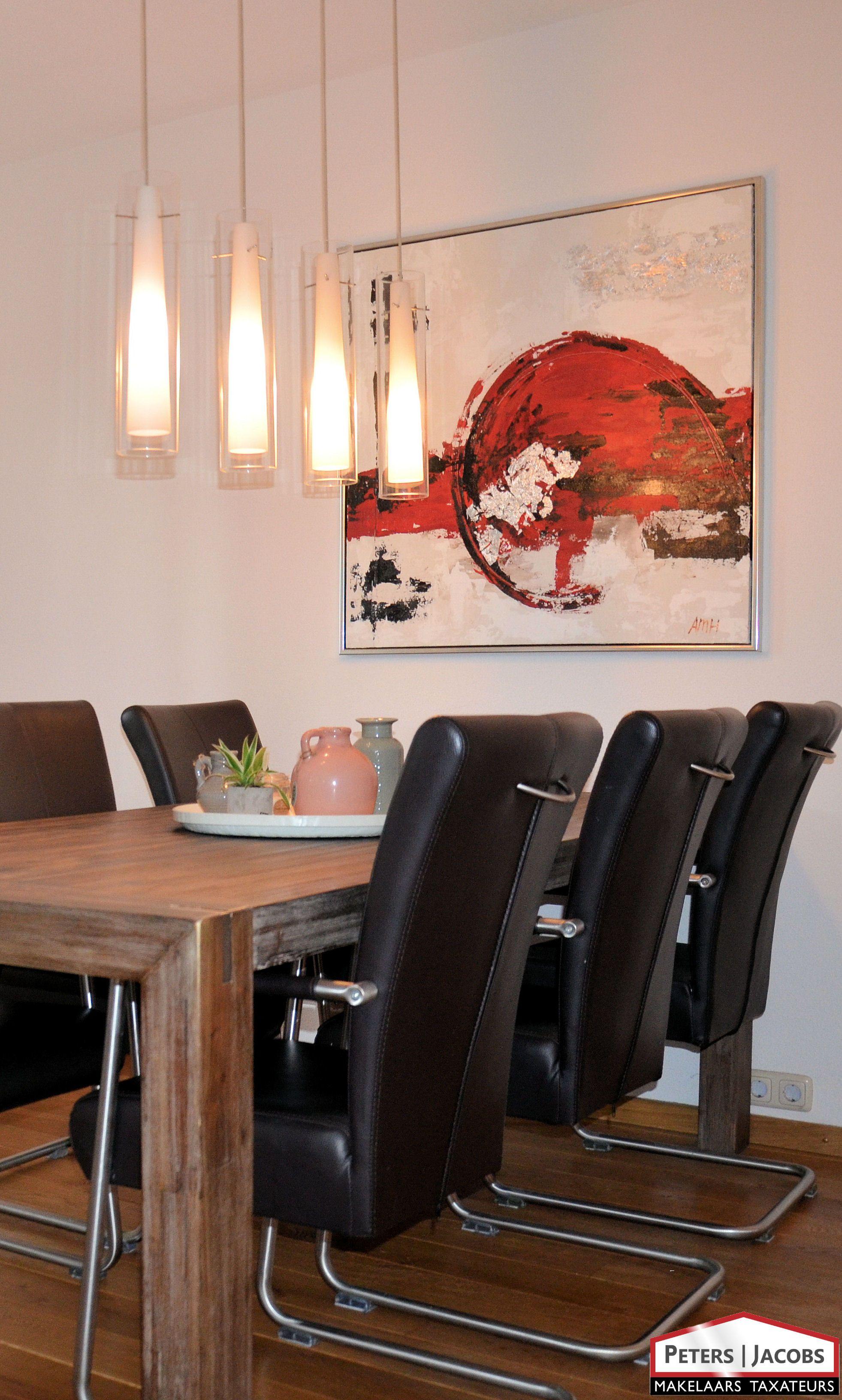 Moderne/sfeervolle eetkamer lamp. | Interieur | Pinterest