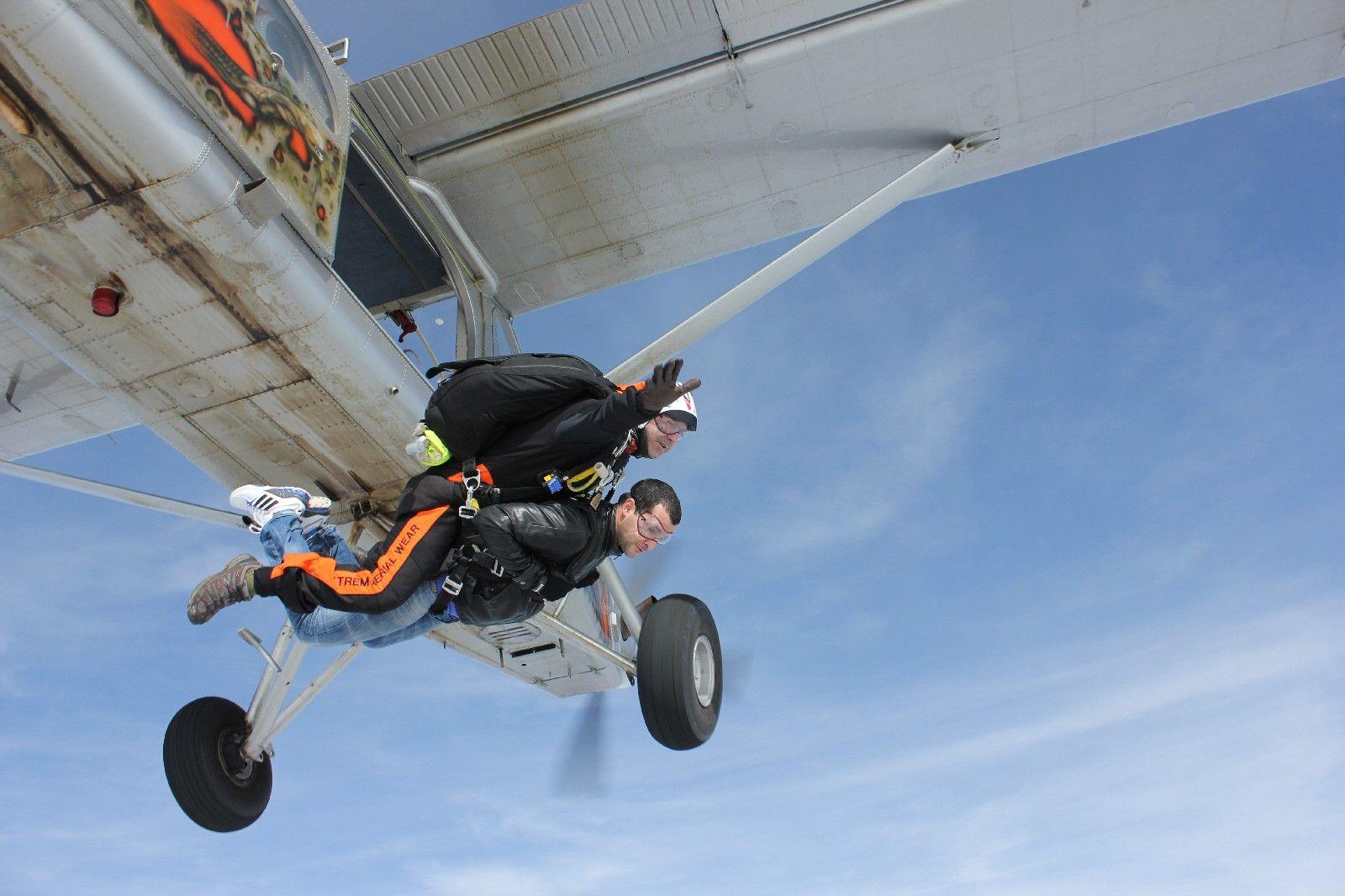 Saut En Parachute Tandem P U00e9ronne