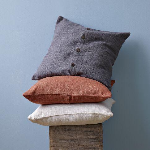 hand loomed pillow cover west elm homely pinterest. Black Bedroom Furniture Sets. Home Design Ideas
