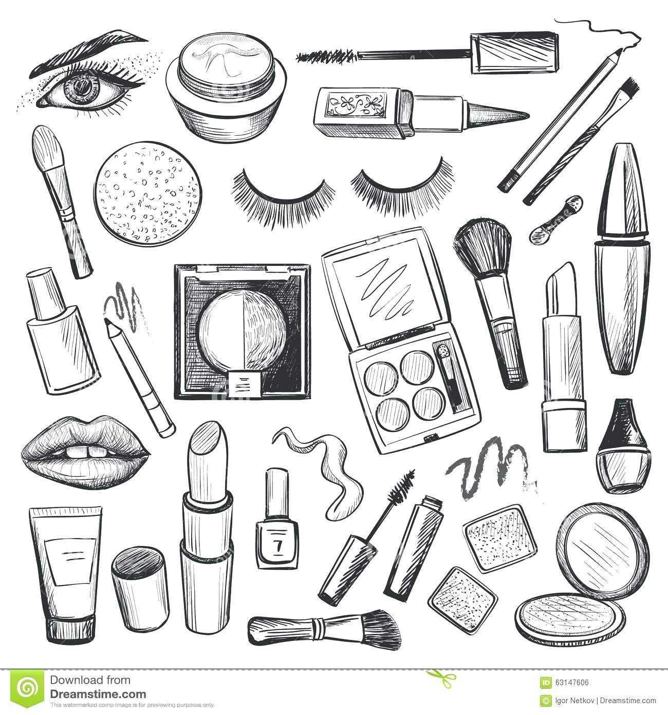 25 Excellent Photo Of Makeup Coloring Pages How To Draw Hands