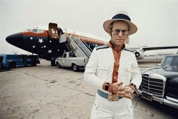 I M With The Band And Their Private Jet Elton John Elton John