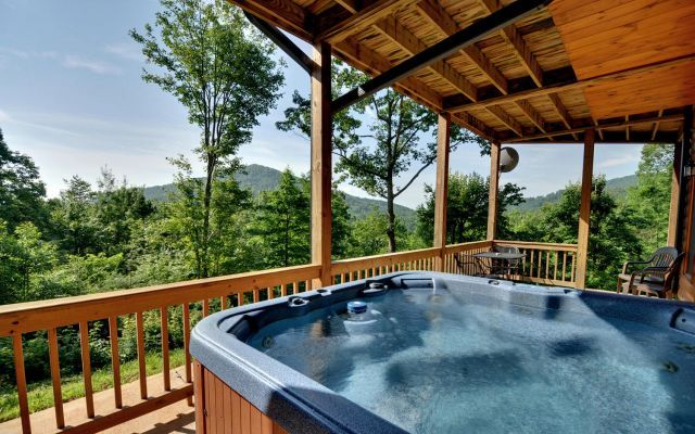 Dreamview from the hot tub!