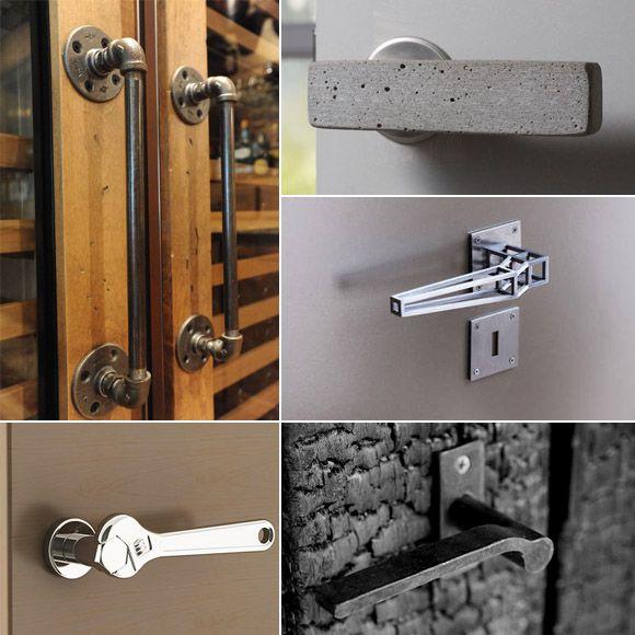 Cinco curiosas manivelas para puertas - Una casa con vistas