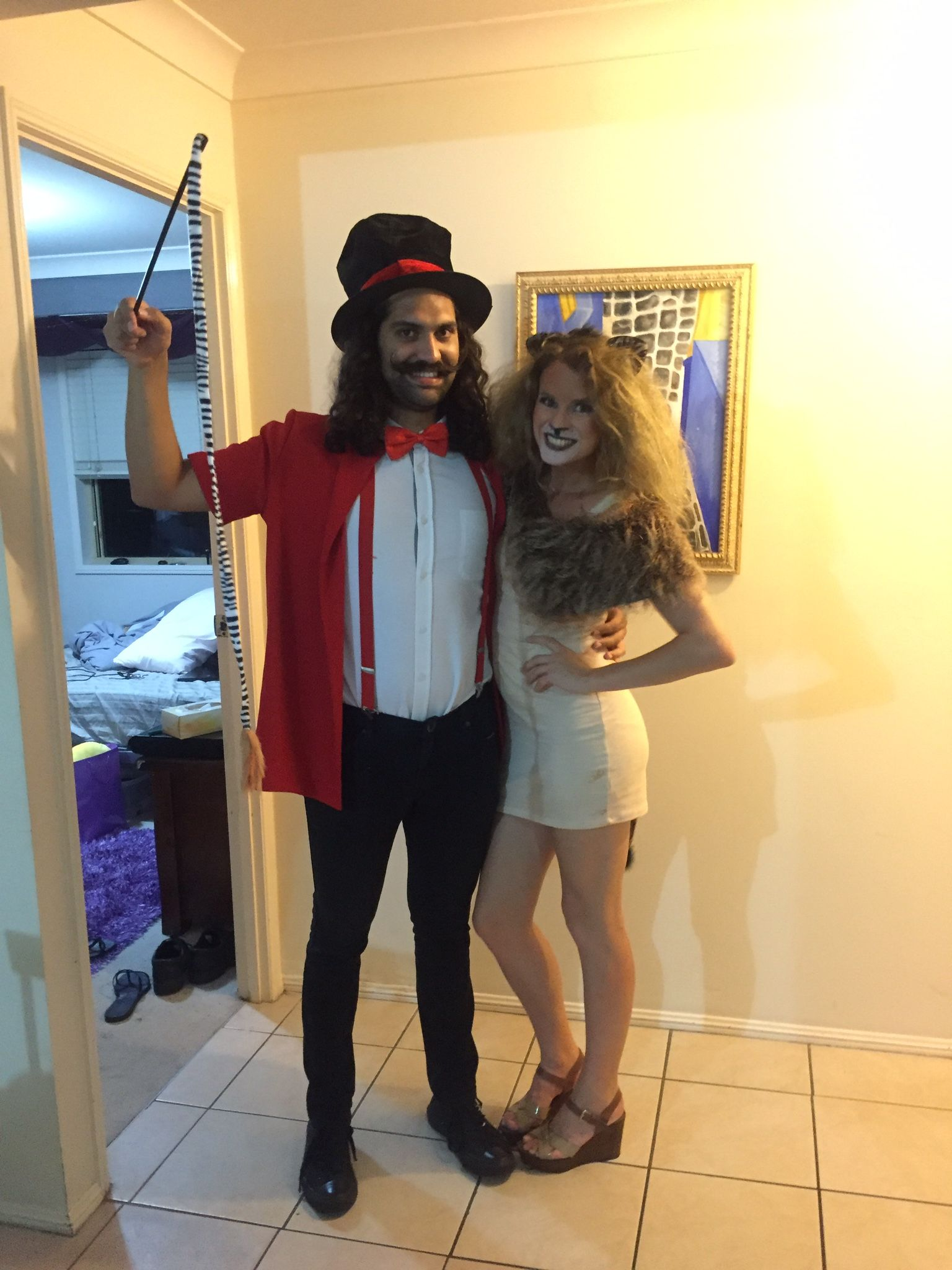 Lion Tamer And Dress Costume