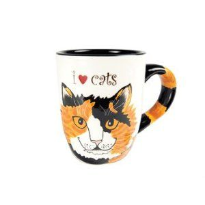Sunshine Calico Cat Mug