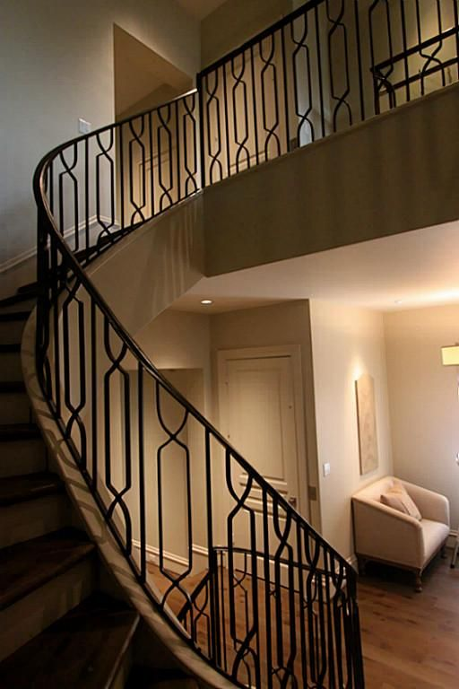 Iron railings #staircaserailings