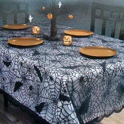 Halloween Tablecloth is very important for your table decorations as you will be inviting the guest for dinner as well.    Always cover your dining...