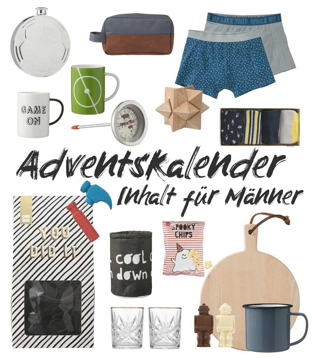 Adventskalender Inhalt für Männer Adventskalender