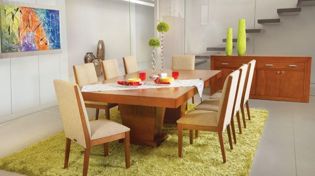 Con muebles en color claro debes tener mucho cuidado con for Comedores de piel