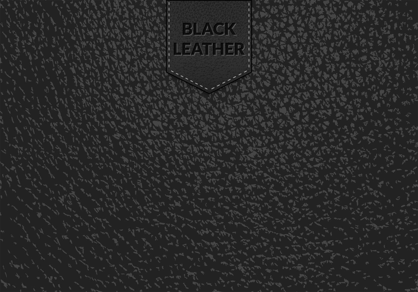 Free Black Leather Vector Background Vector background