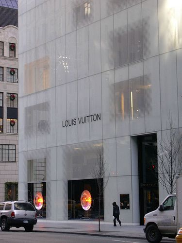 Louis Vuitton | Retail | Glass facades, Concept ...