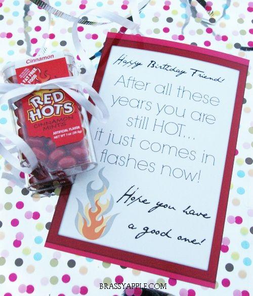 Hot Flashes Birthday Gift