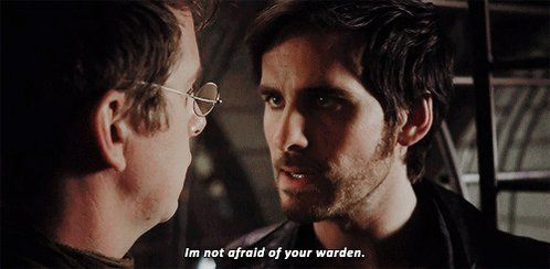 """CaptainSwan on Twitter: """"""""I'm not afraid of your warden."""" #Hookers #CaptainSwan #OnceUponATime https://t.co/siRfIsZyq9"""""""