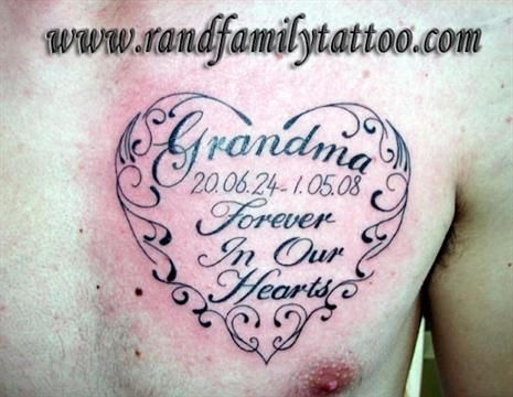 grandchildren tattoos | Family Remembrance Tattoos – Top ...