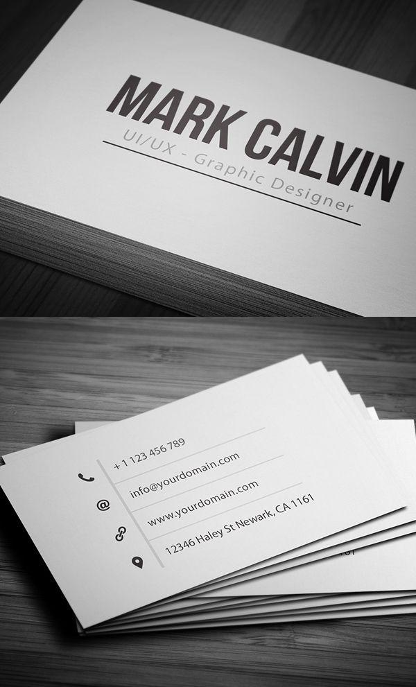 Clean, simple business card design   Design   Business Cards ...