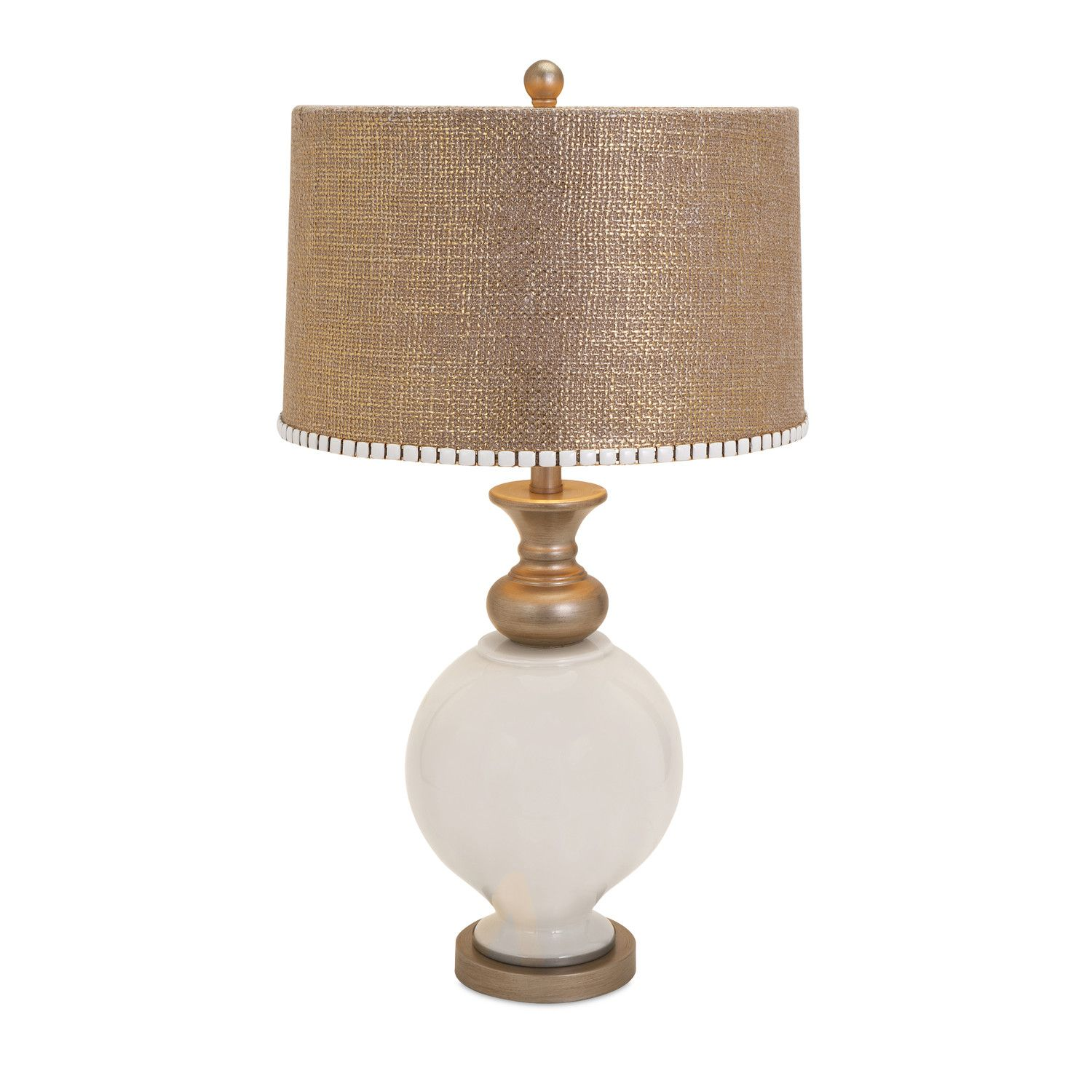 """IMAX Lily 20"""" H Table Lamp with Drum Shade - Really like the look of this table lamp - I STILL LIKE THE LOOK OF THIS TABLE LAMP ALOT"""