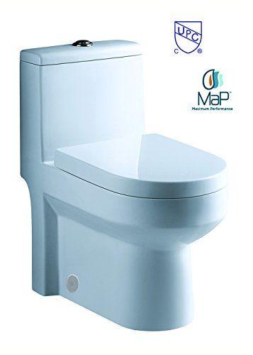 Toilet Galba 24 5 24 25 Inch Small Toilet One Piece 24 Https Www Amazon Com Dp B00gyr3j10 Ref C Toilet For Small Bathroom Small Toilet Compact Bathroom