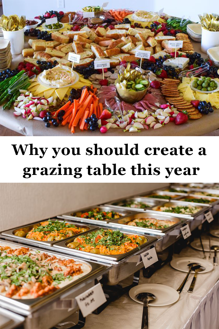 Why you should create a grazing table this year #buffet