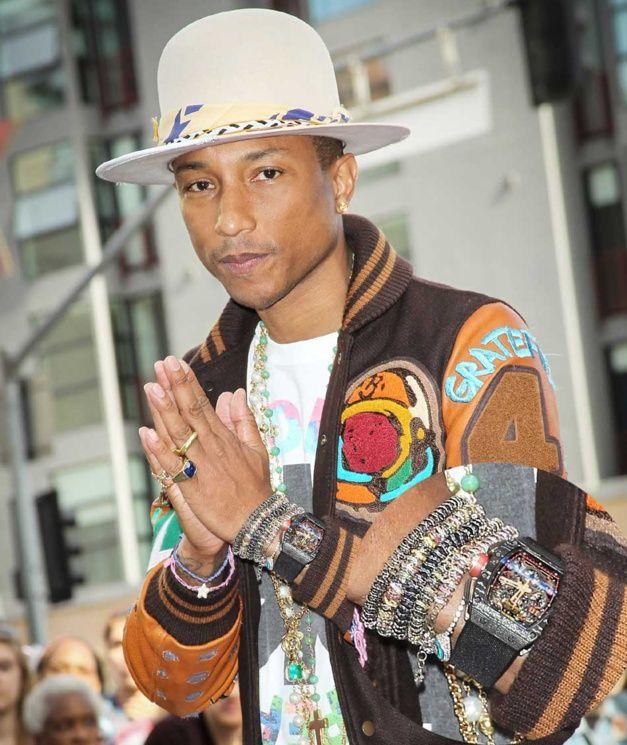 28b3a816d Pharrell Williams   véritable fan de Richard Mille
