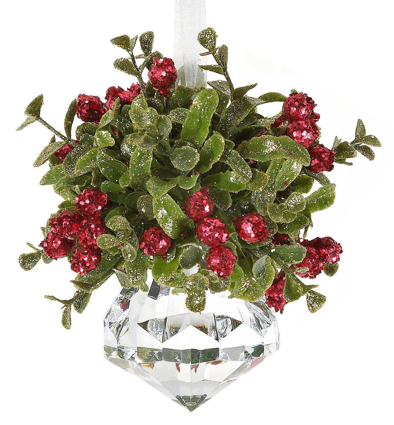 Kissing Krystal Ornament Jewel