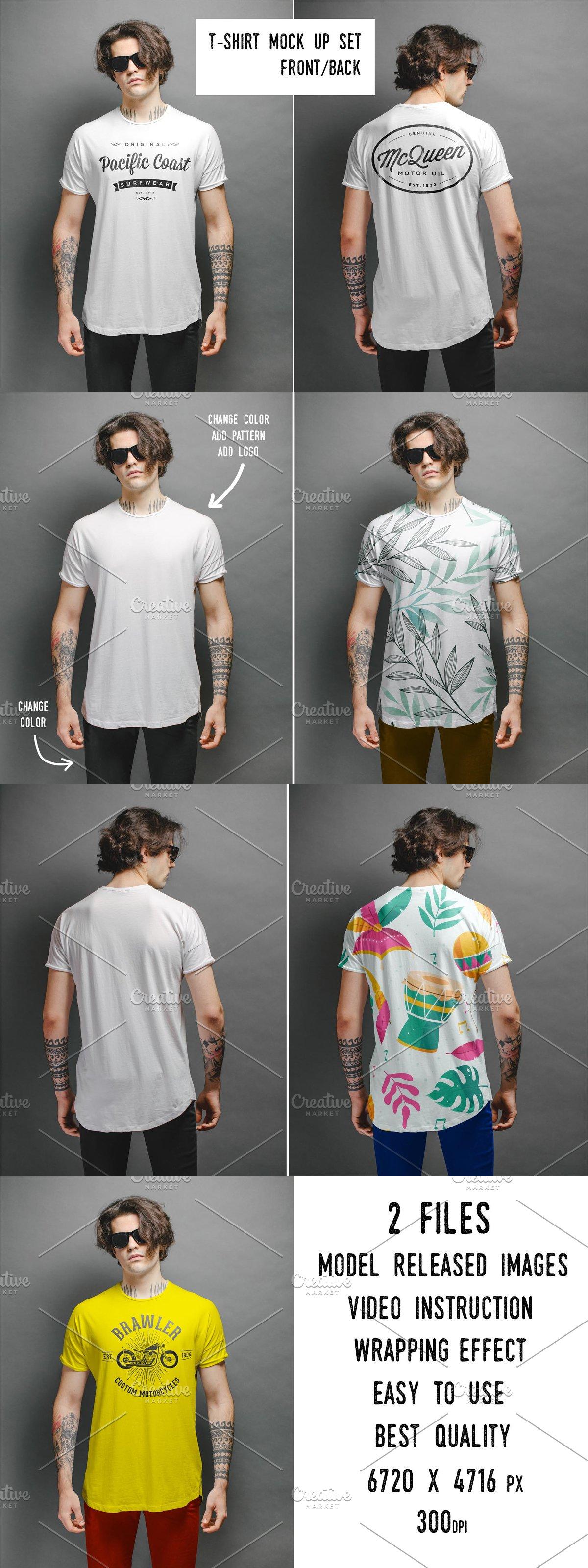T Shirt Mockup Front And Back 3 In 2021 Shirt Mockup Tshirt Mockup Shirt Mock Up