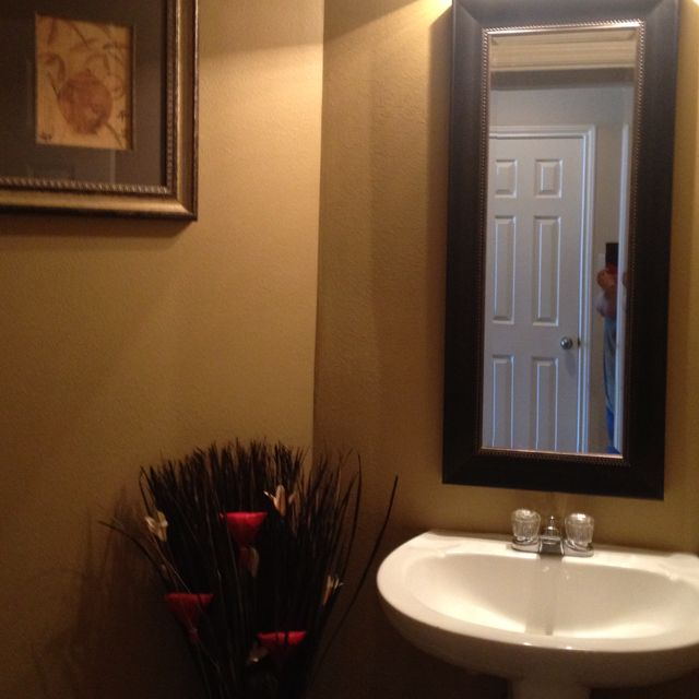 Bathroom makeover sherwin williams paint color baguette for Sherwin williams bathroom paint colors