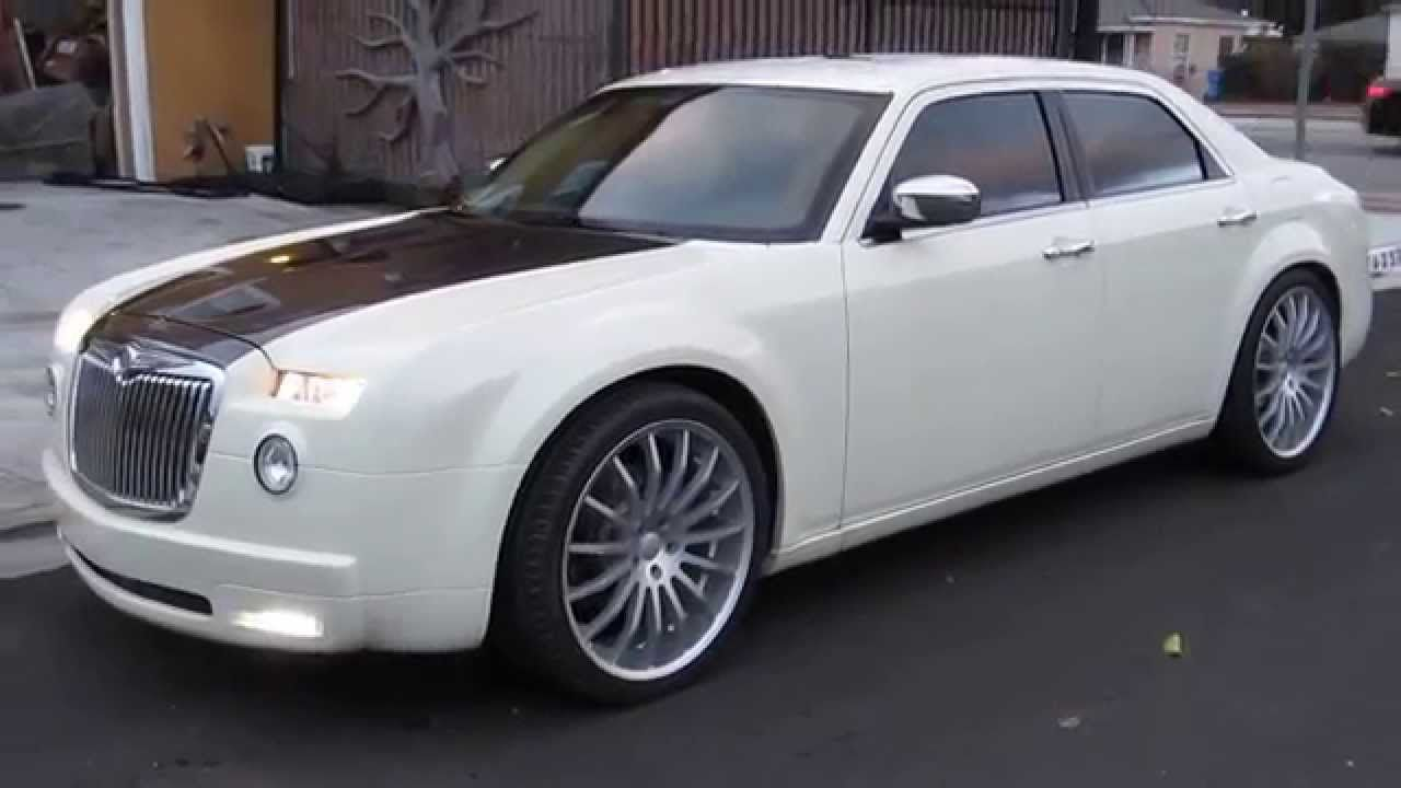 two tone chrysler 300 with custom bodykit | chrysler 300 | pinterest