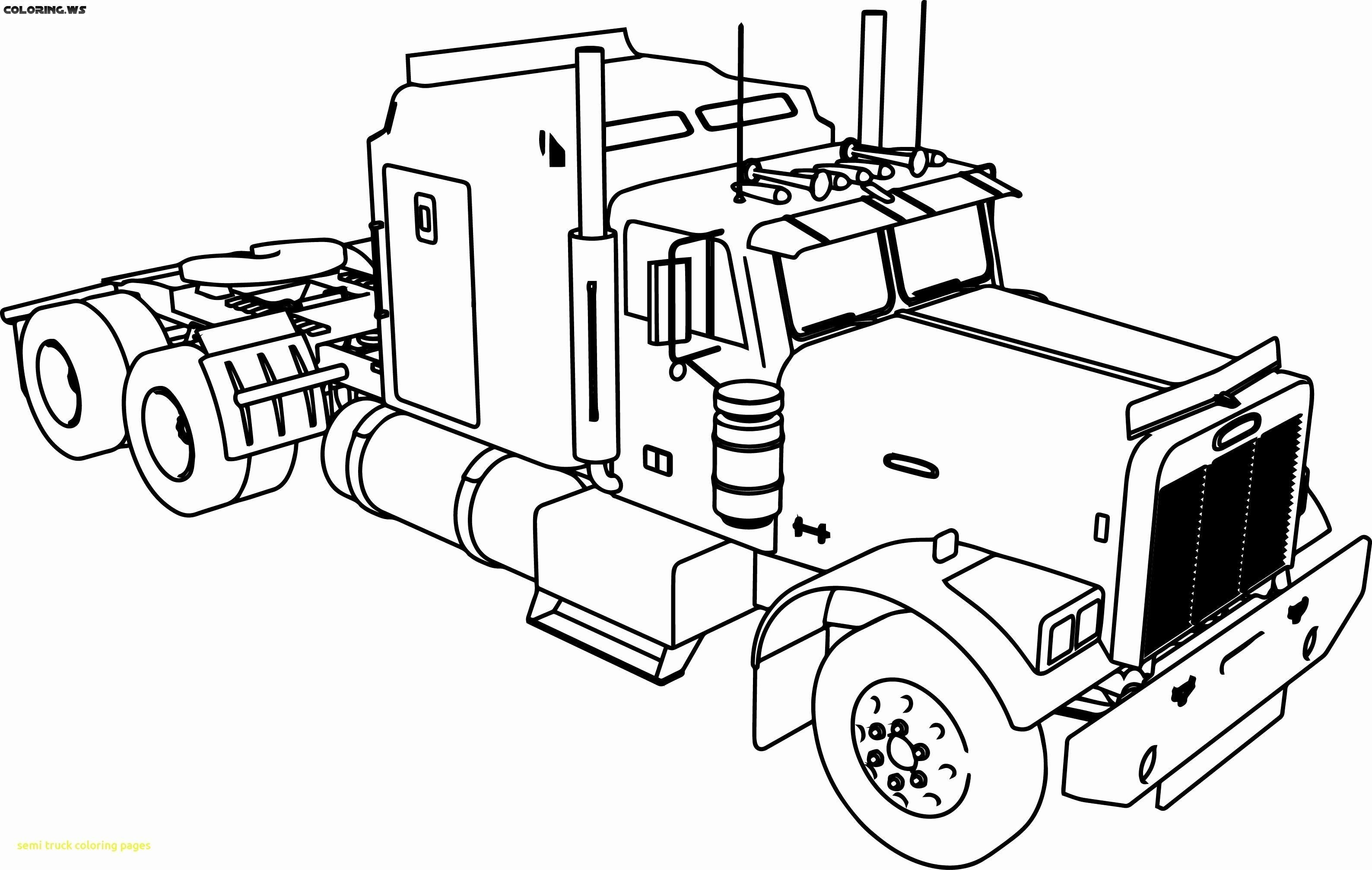 16 Coloring Page Truck Truck Coloring Pages Tractor Coloring Pages Cars Coloring Pages