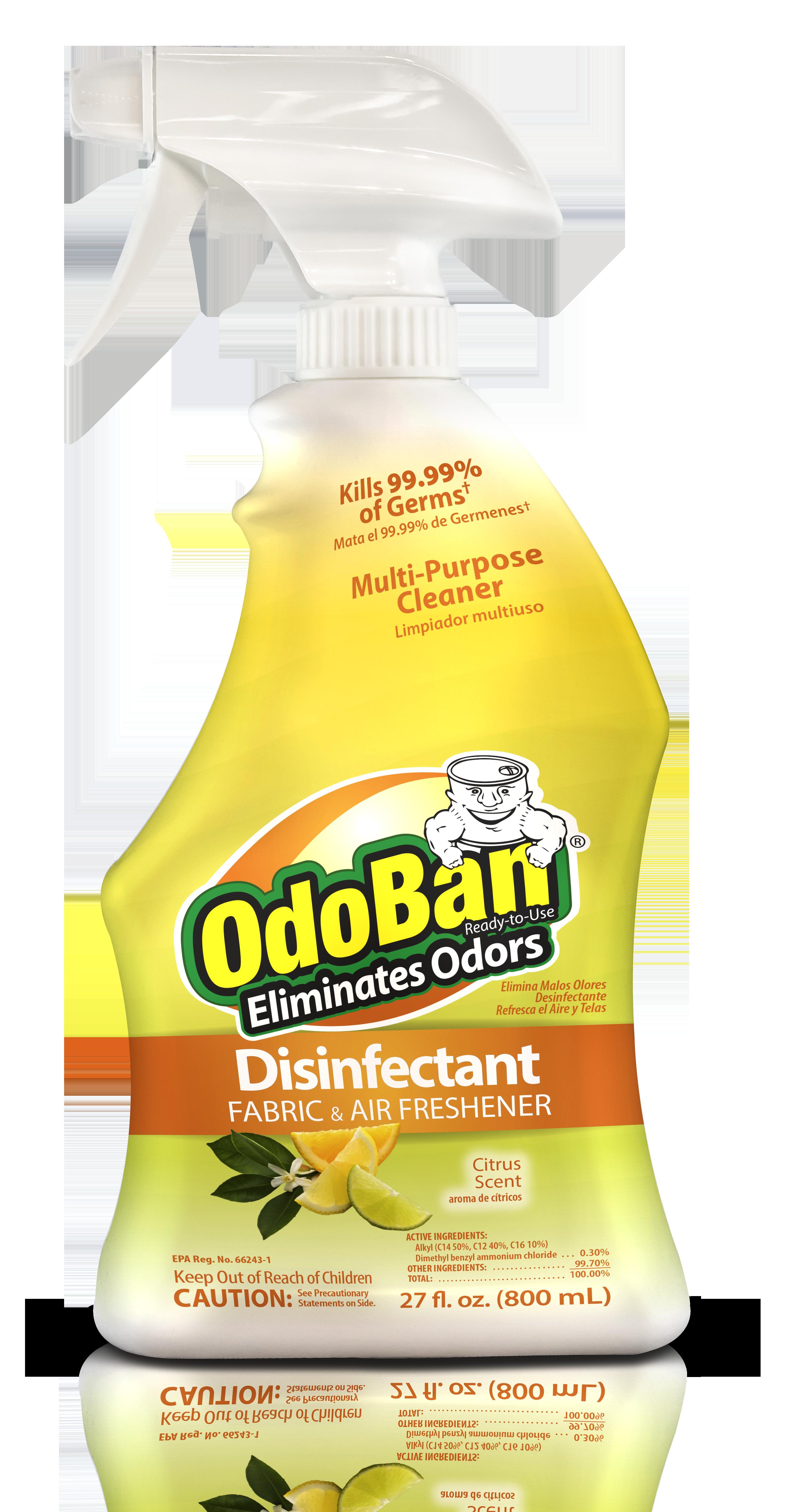 OdoBan Disinfectant and Odor Eliminator Spray Air