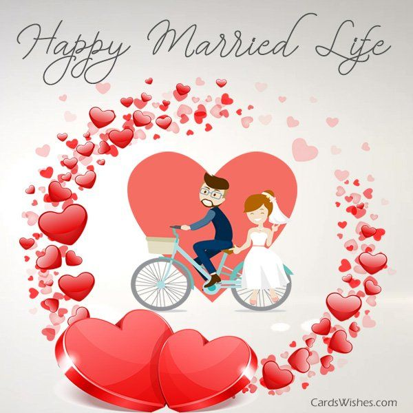 Congratulations To The Cutest Couple For This Year Wedding Wishes Messages Happy Married Life Wedding Day Wishes
