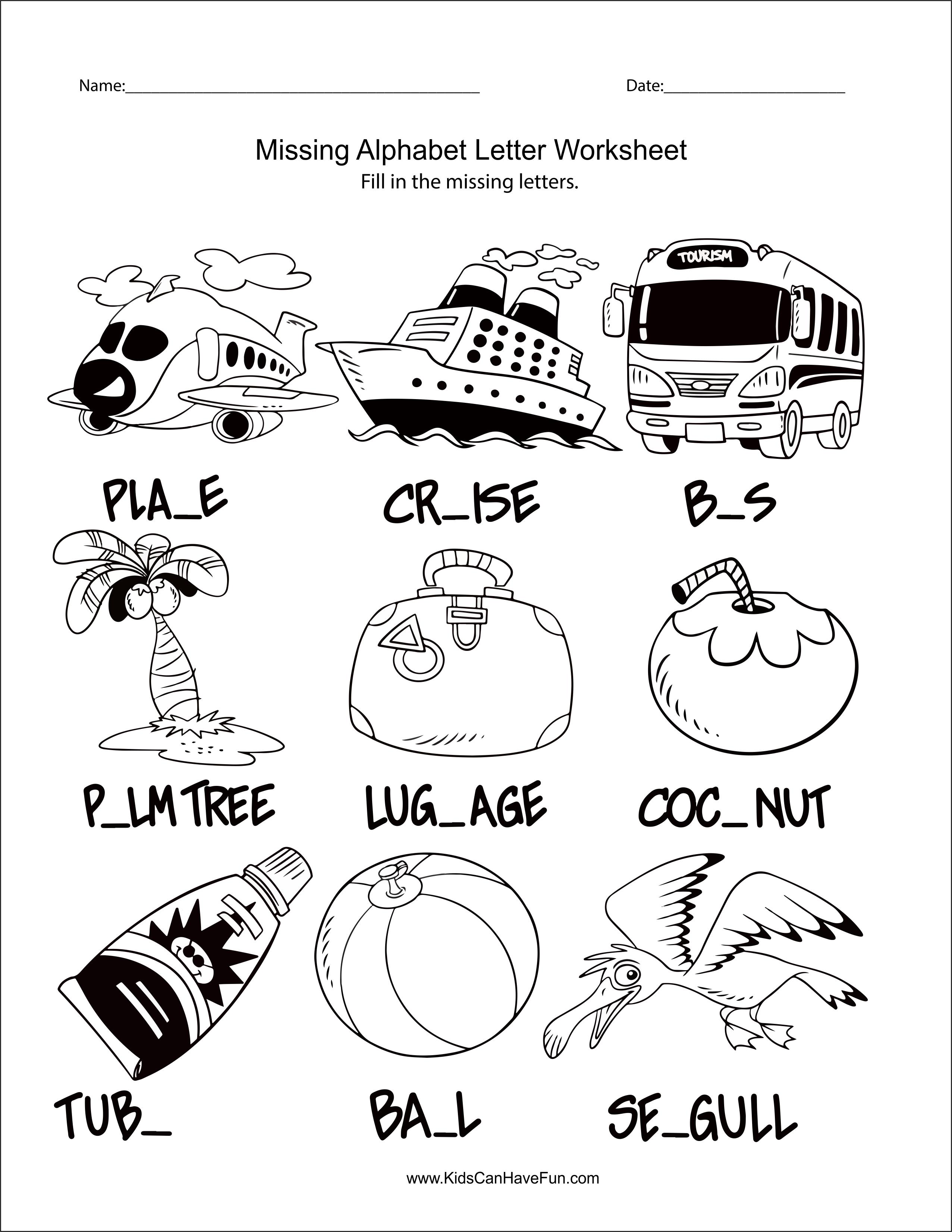 Missing Alphabet Letter Worksheet Alphabet Worksheets Alphabet Letter Worksheets Educational Worksheets [ 3303 x 2553 Pixel ]