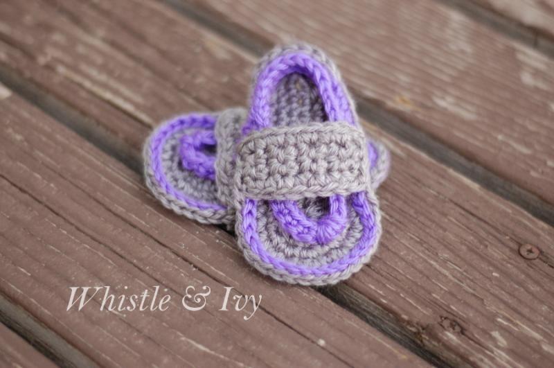 1201665c6 Baby Strap Flip-Flop Sandals « The Yarn Box The Yarn Box