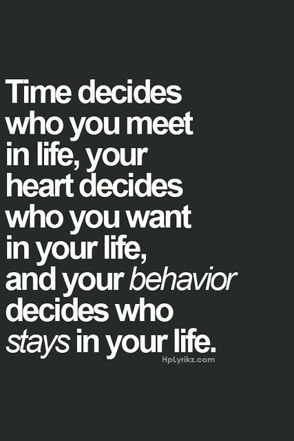 Time & Behavior