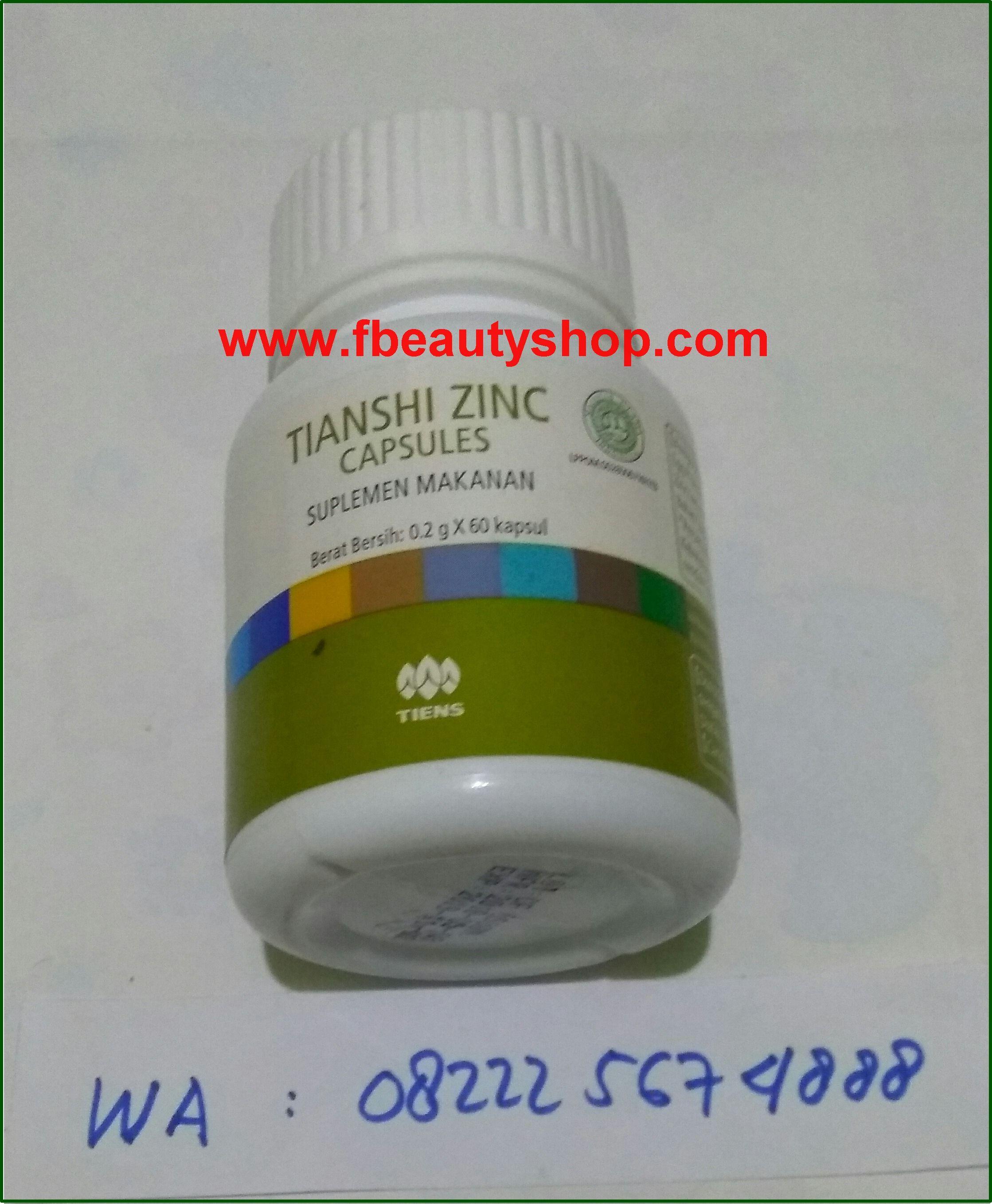 Tianshi Zinc Capsule Suplemen Makanan Peninggi Badan Adalah Salah Satu Suplemen Makanan Yang Diproduksi Oleh Perusahaan Farmasi Terbe Makanan Perawatan Farmasi