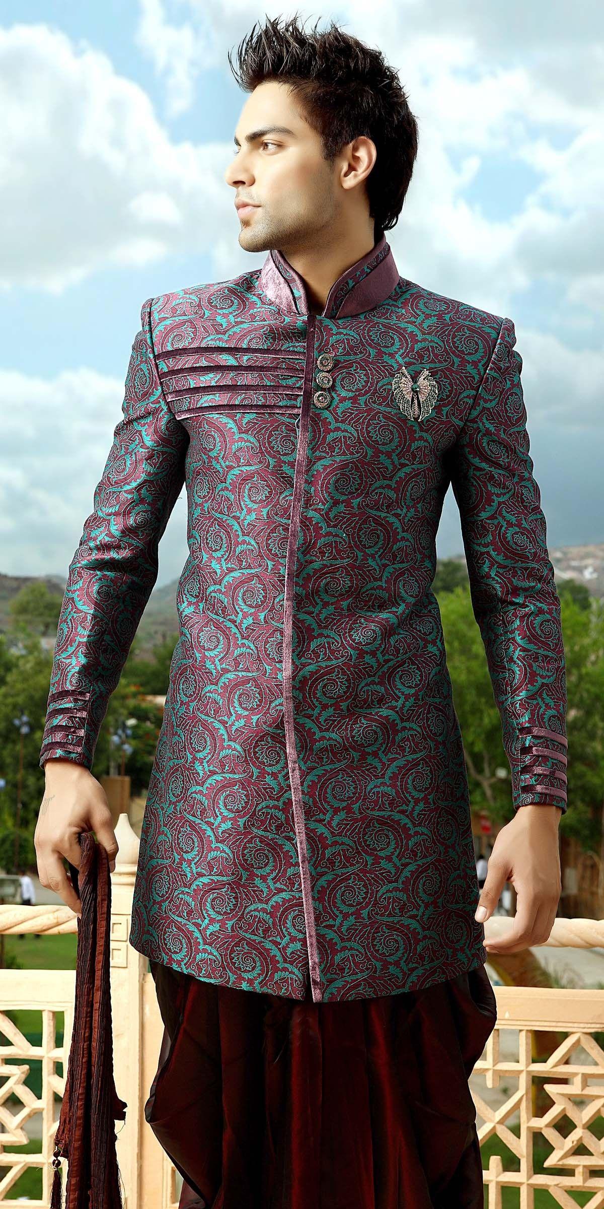 Bollywood indo western sherwani dress pinterest sherwani