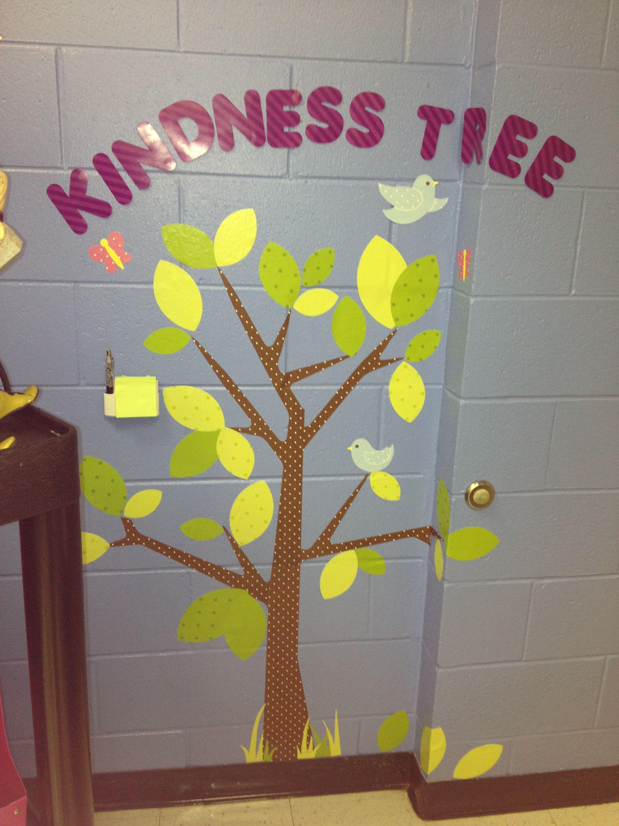 CD Kindness tree wall decal