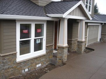 Cultured Natural Stone Veneer Exterior Traditional Exterior Home Sweet Home Pinterest