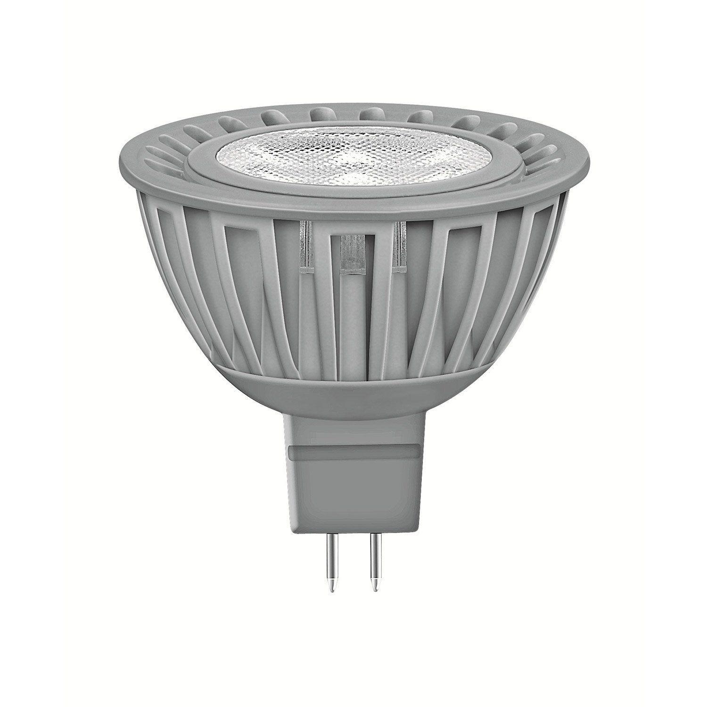 Ampoule Reflecteur Led 6 5w 350lm Equiv 35w Gu5 3 Compatible Variateur 36 Led Et Ampoule