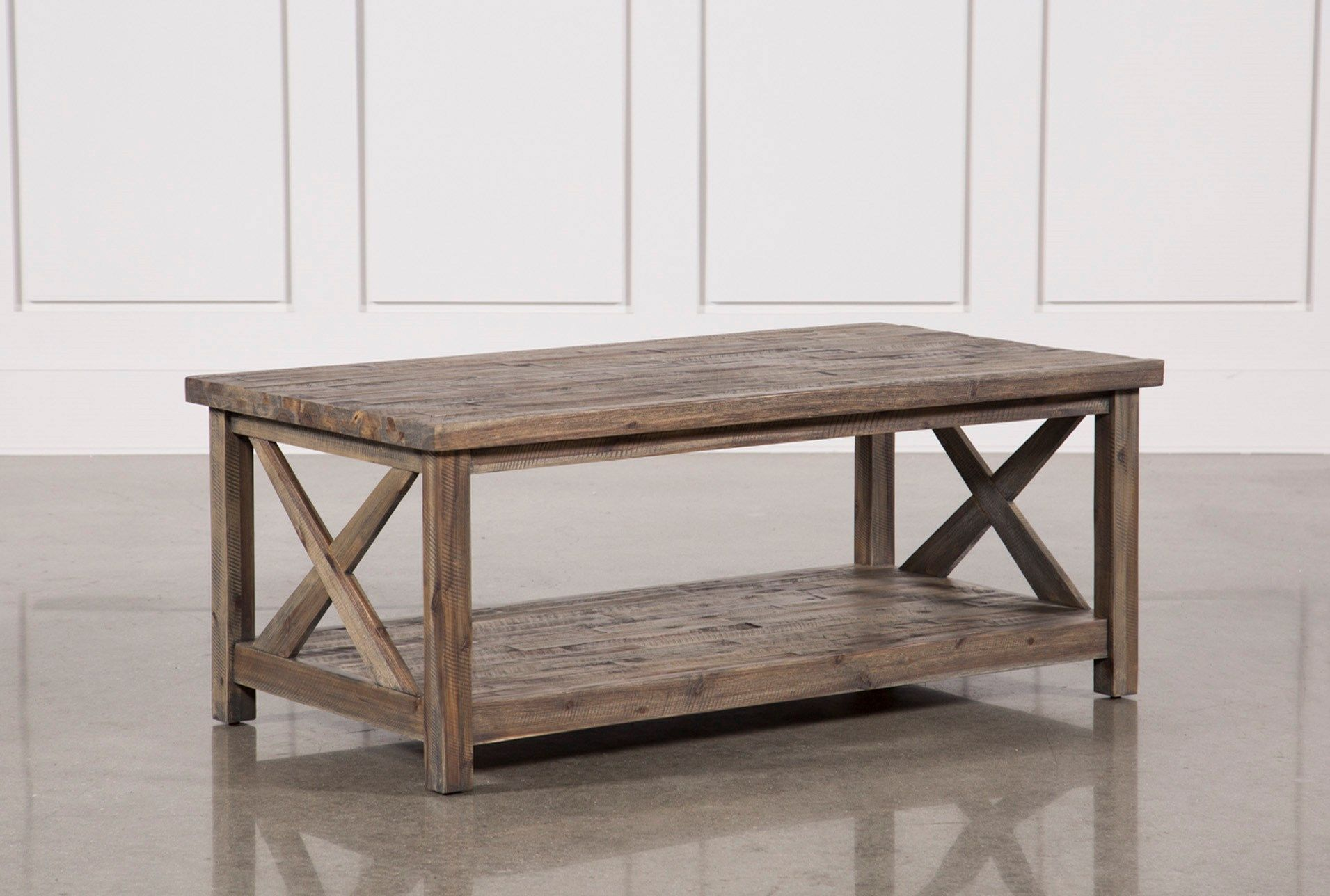Mallard Cocktail Table Grey Coffee Tables