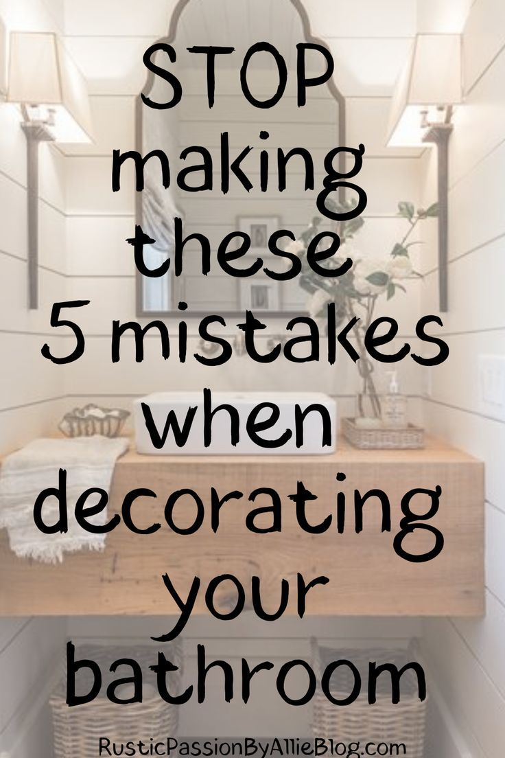 Stop making these 5 mistakes when decorating your