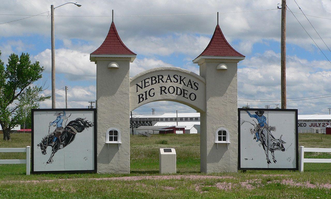 Garfield county frontier fairgrounds in nebraska