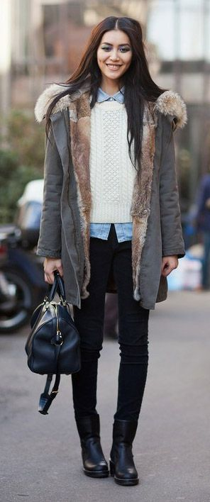Street style � Una parka: una prenda must