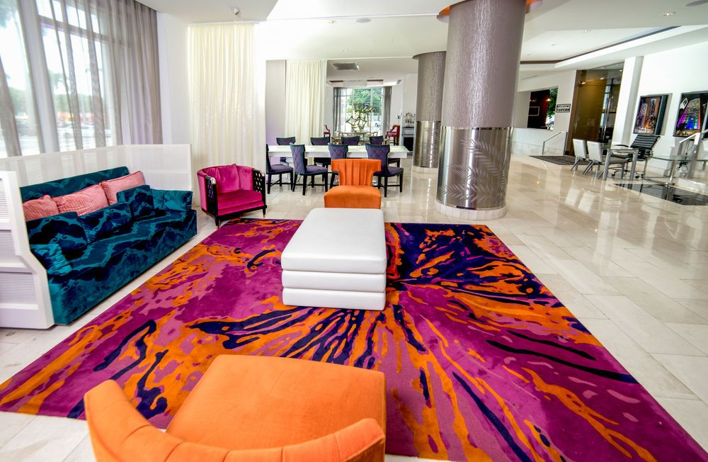 Lobby Rug At Yve Hotel Miami U S Florida Miami With Images