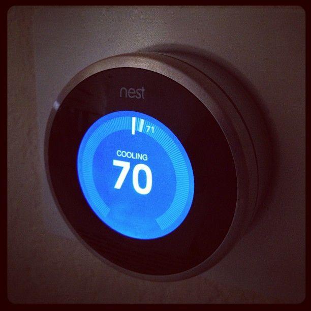 Custom Trim Plate For The Nest Learning Thermostat By Tree Two One | Nest  Learning Thermostat | Pinterest | Nest, Nest Thermostat And Apartments