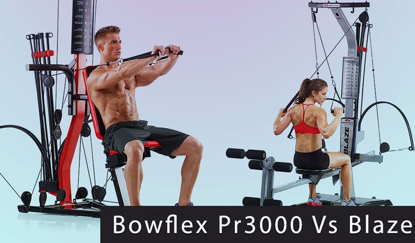Bowflex Blaze Vs Pr3000 Comparison Differences Bowflex Blaze Bowflex Workout Guide